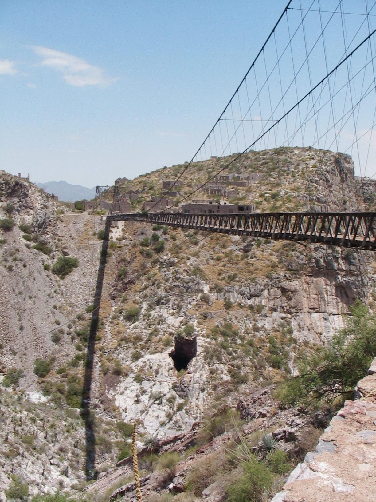 Puente Hijuela Comarca Lagunera Mexico