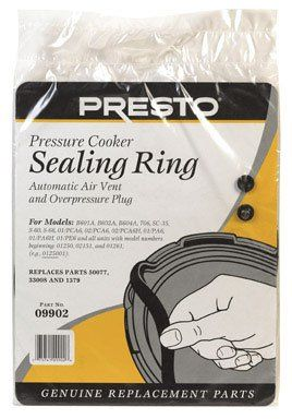 Presto Pressure Cooker Sealing Ring (09902) - http://cookware.everythingreviews.net/6383/presto-pressure-cooker-sealing-ring-09902.html
