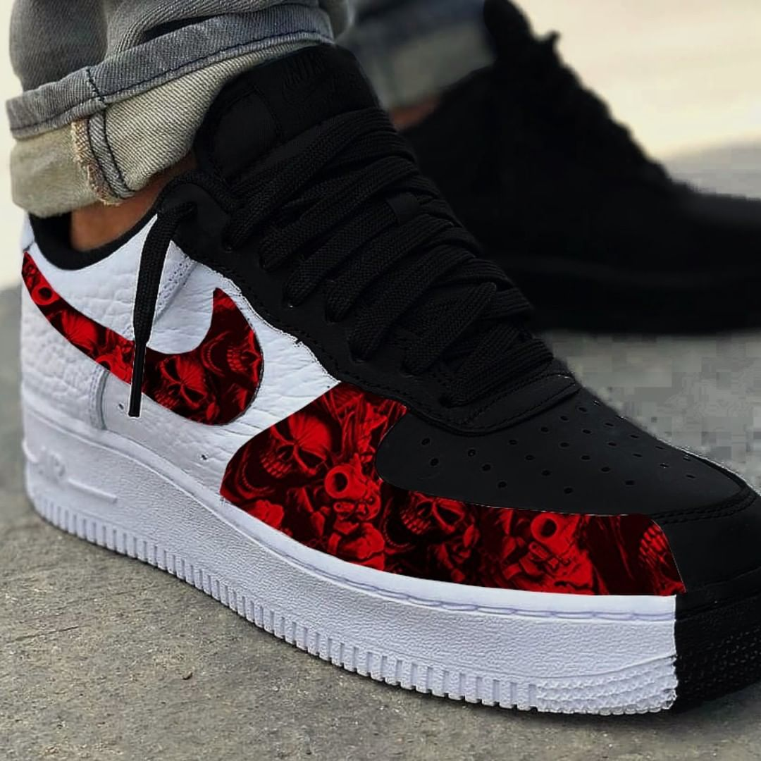 in 2020 Custom nike shoes, Sneakers, Nike air force sneaker