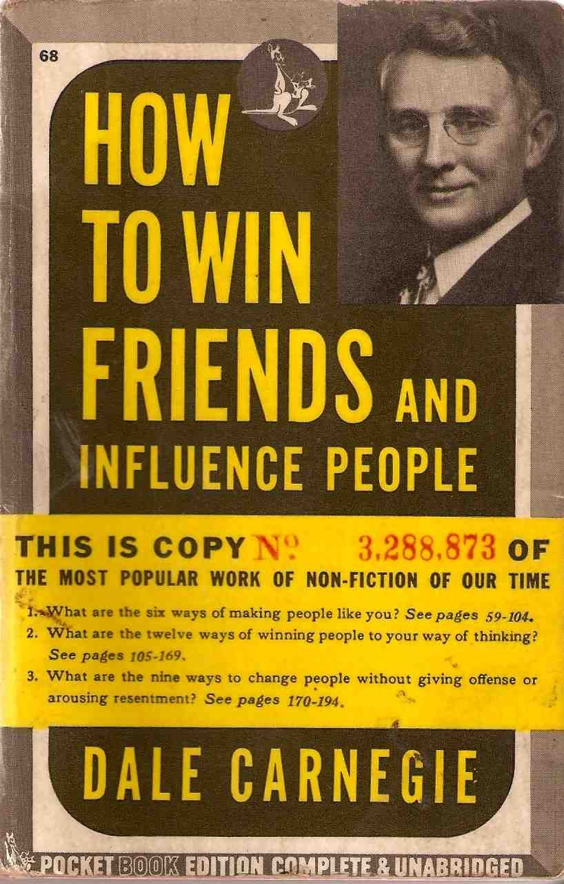 Best books for entrepreneurs: How to Win Friends & Influence People