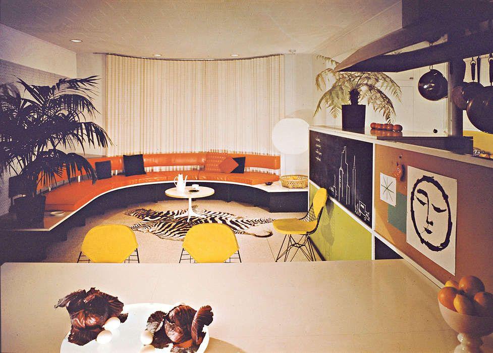 Leopold Kitchen, Larchmont, New York. Interior Designed by Gordon Chadwick, 1954