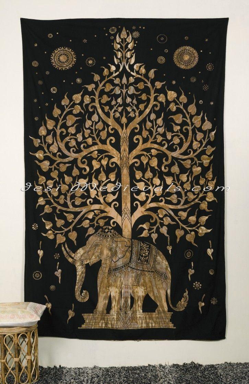 Handicrunch Tree of Life Tapestry Wall Hanging