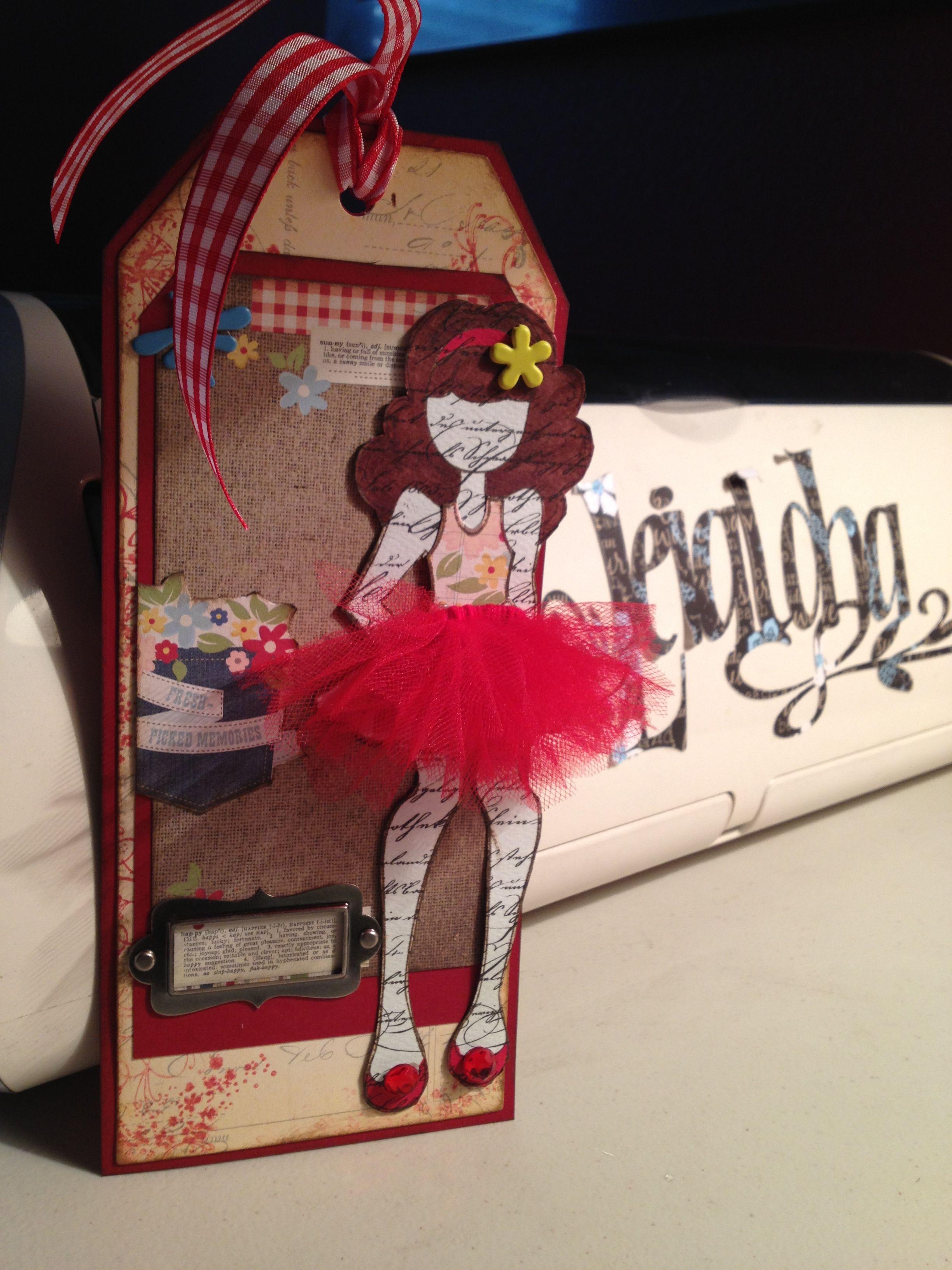 Prima Paper Doll
