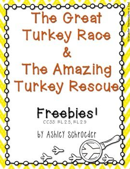 the great turkey race writing activity