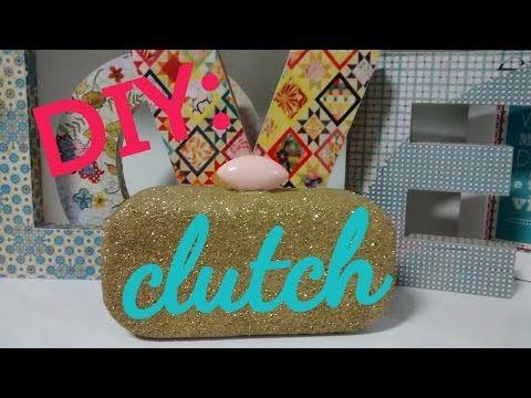 DIY/Faça você mesmo:Clutch-Elisandra Gonçalves - YouTube