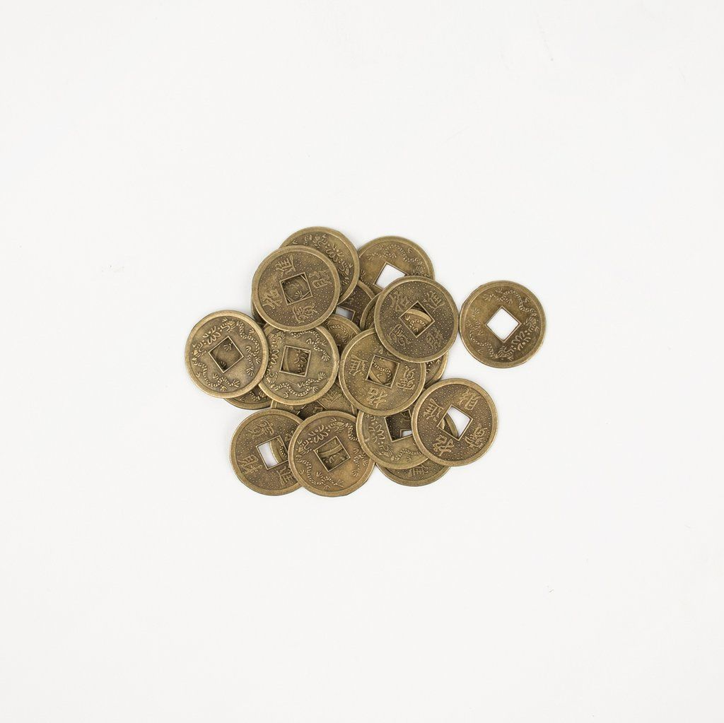 25 Chinese coins