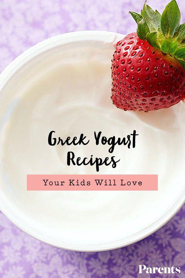 Greek Yogurt Recipes Your Kids Will Love   Greek yogurt ...