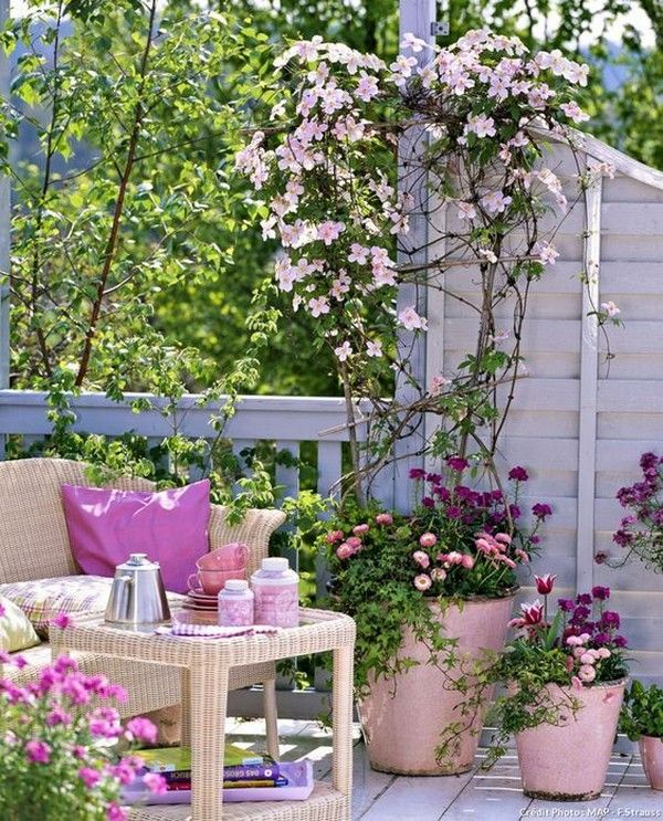 Wonderful Potted Flowers Decor Ideas That Will Amaze You