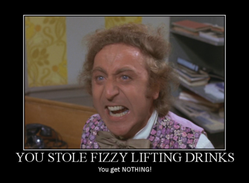 I So Want To Go All Willy Wonka On Somebody One Day You Lose