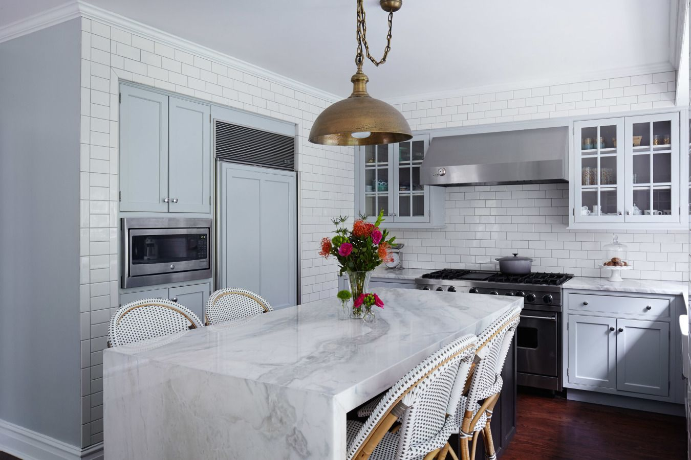 Pushing the Boundaries in a Chicago Home | Marbles, Kitchens and Steel