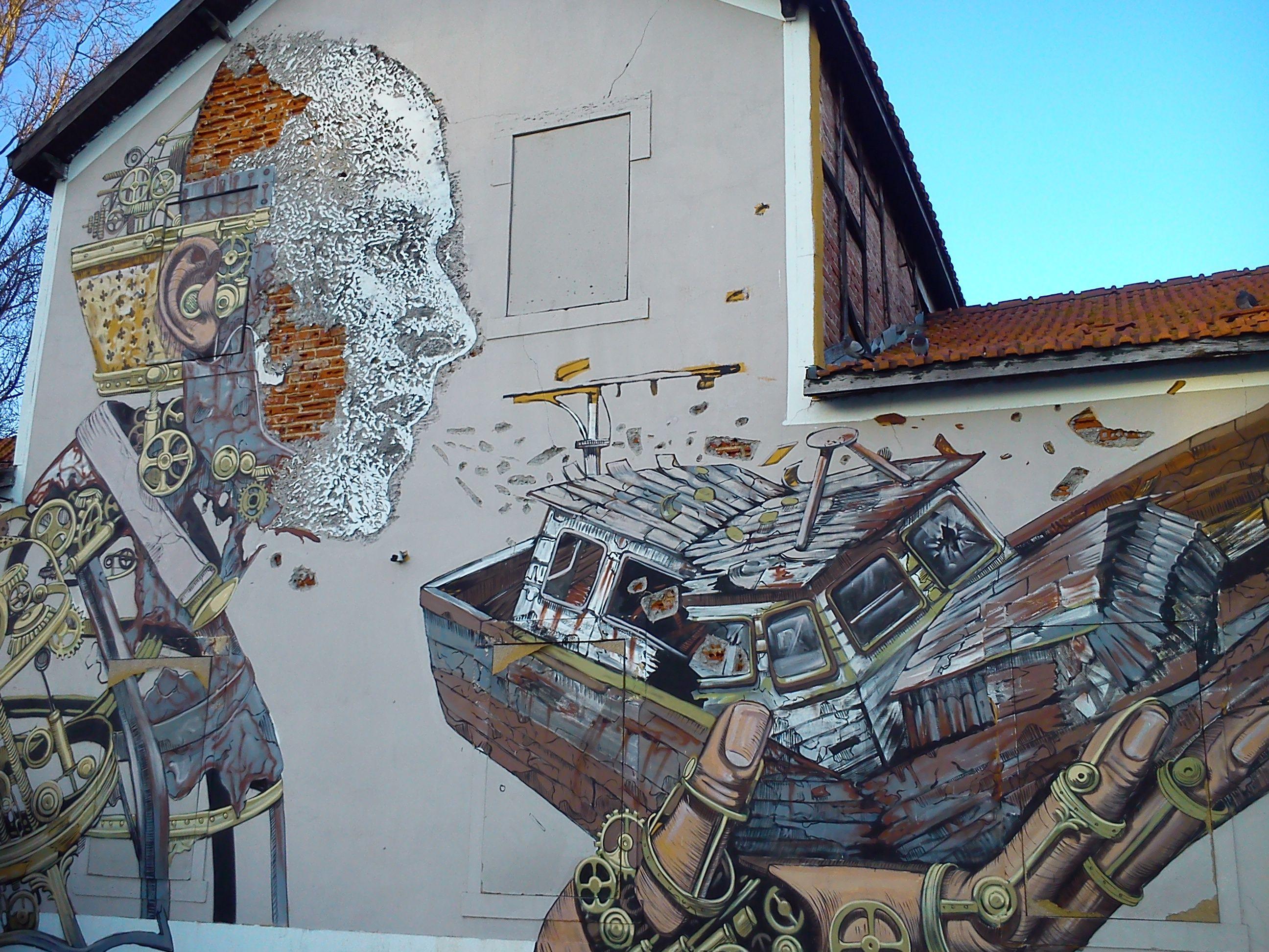 Vhils - Lisboa