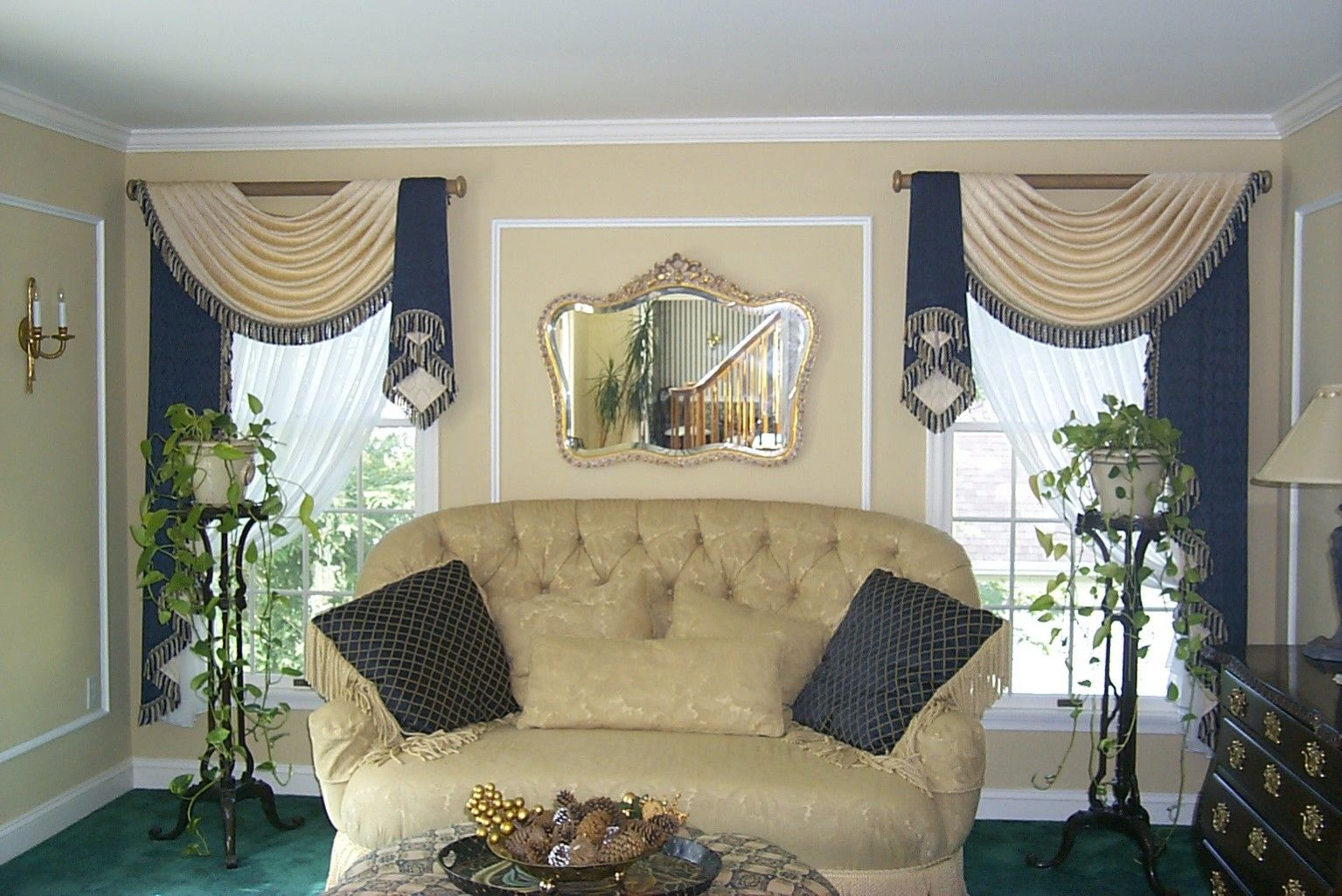 WORKROOM INTELLIGENCE - Before & After - What Window Treatments Can Do For A Room