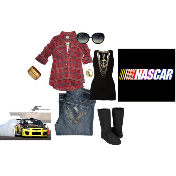 Nascar Chic, created by sammijove on Polyvore