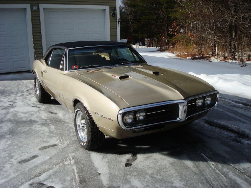 eBay: 1967 Pontiac Firebird Muscle Car/ Classic Car Rare 1967 ...
