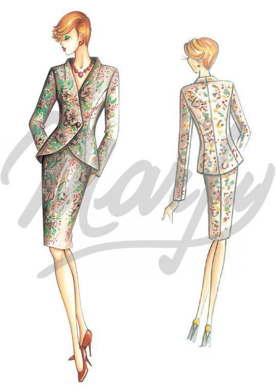 Patrón de costura Chaquetas / Chal 3311 | каталоги мерфи | Pinterest ...