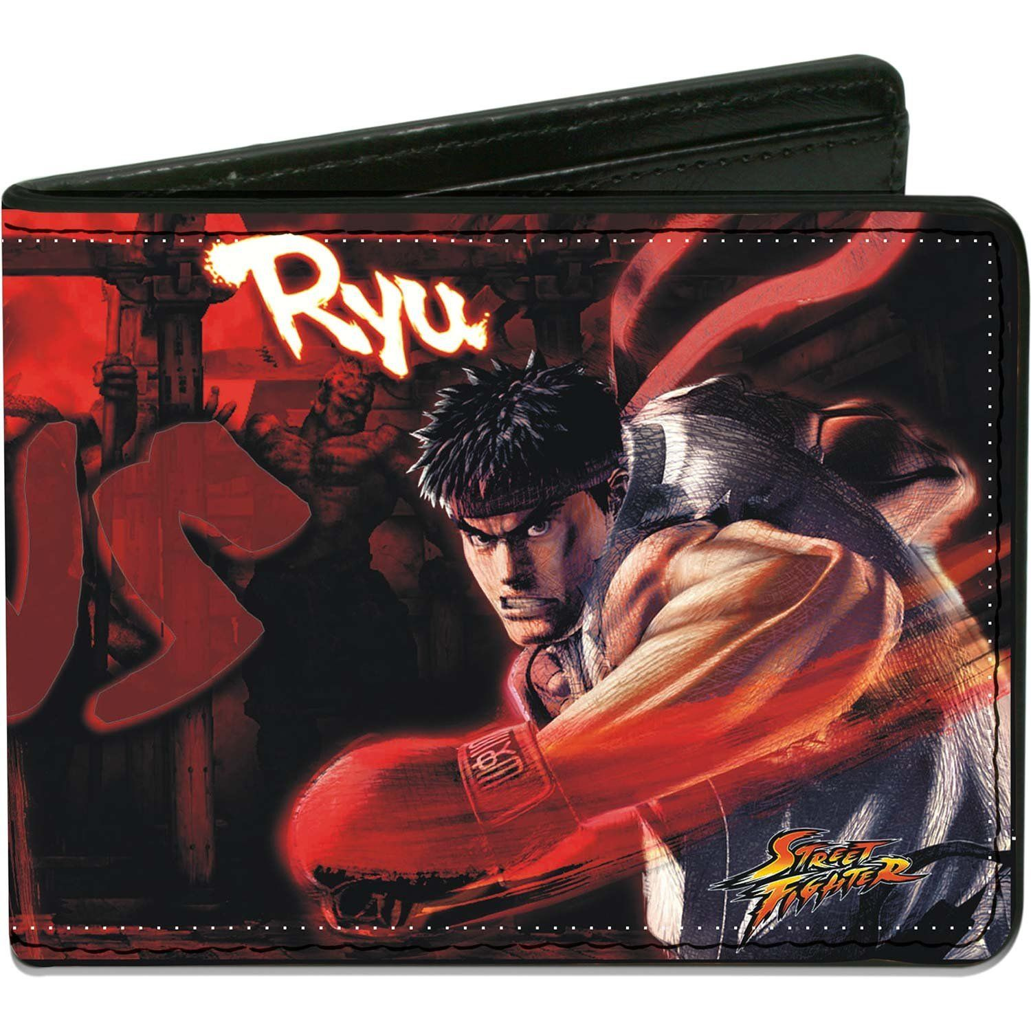 Street Fighter Ryu Vs Akuma Action Pose Bi Fold Wallet See This Great Product Ryu Street Fighter Bi Fold Wallet Street Fighter