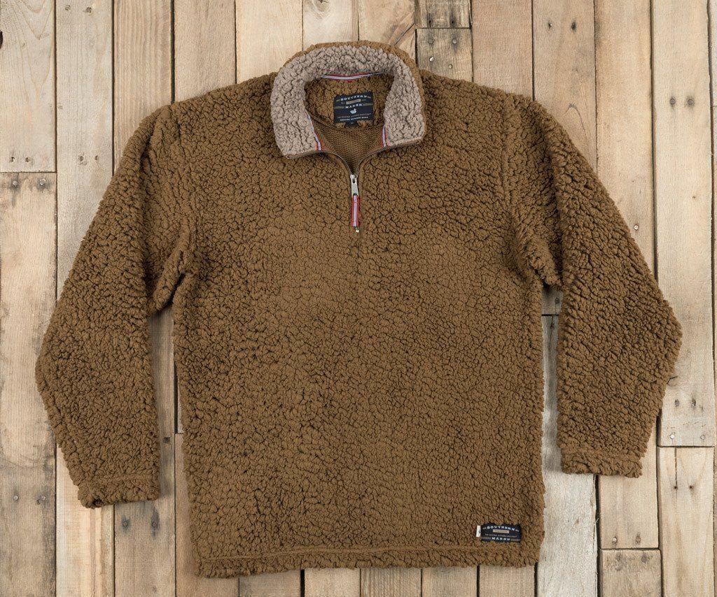 d78000b7dc6 Southern Marsh Appalachian Pile Sherpa Pullover - Brown