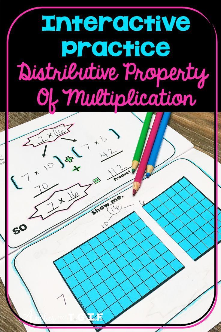 Distributive Property of Multiplication Distributive