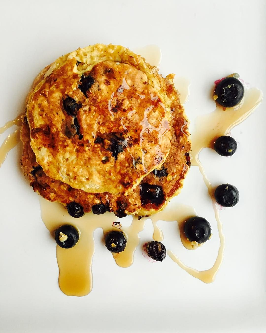fitgirlsguide fitgirlscook blueberry pancakes were delicious 34g