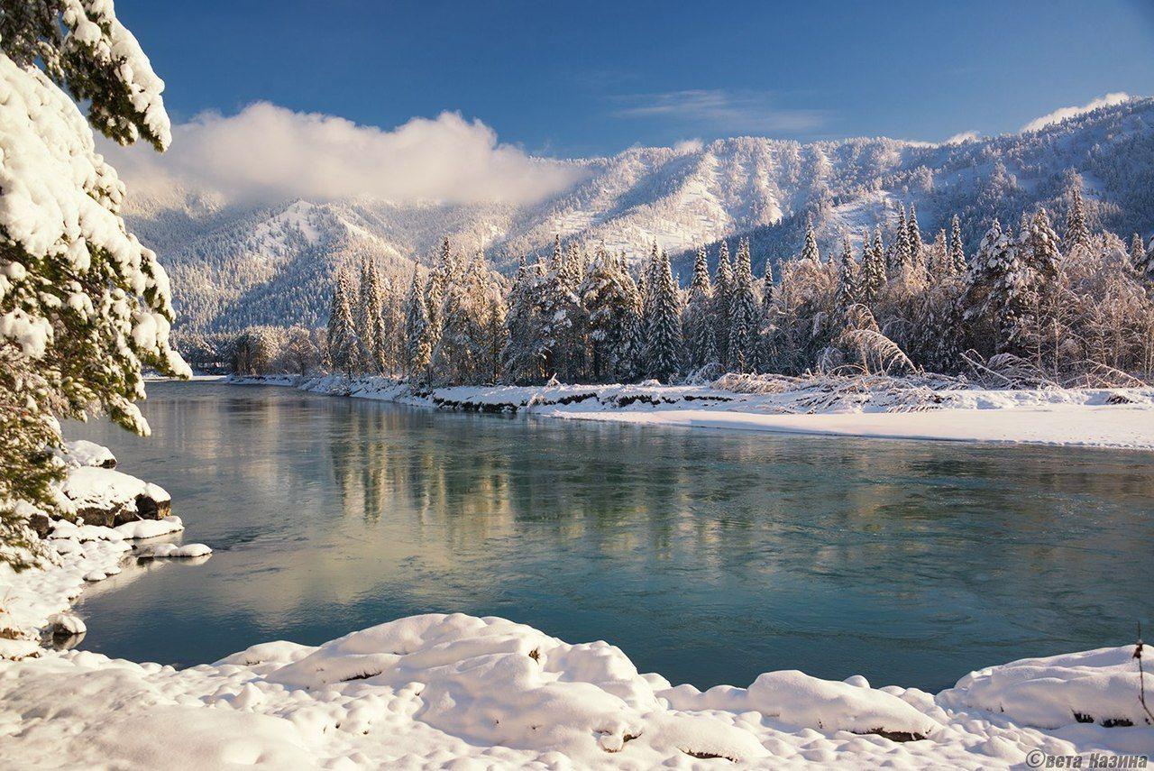 можно вырезать горное озеро зимой фото кое-что, все-таки, имеется
