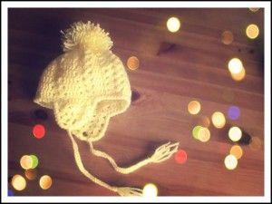 gorro pompon crochtet  203628a69df
