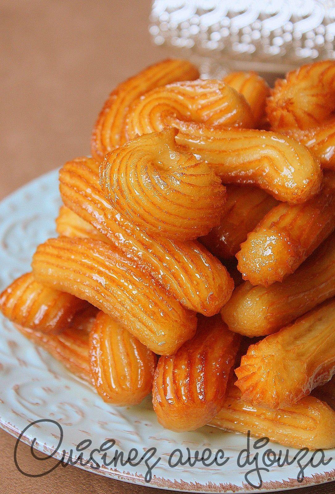 Tulumba tatlisi , Beignets turcs au sirop de miel parfumé à la fleur  d\u0027oranger