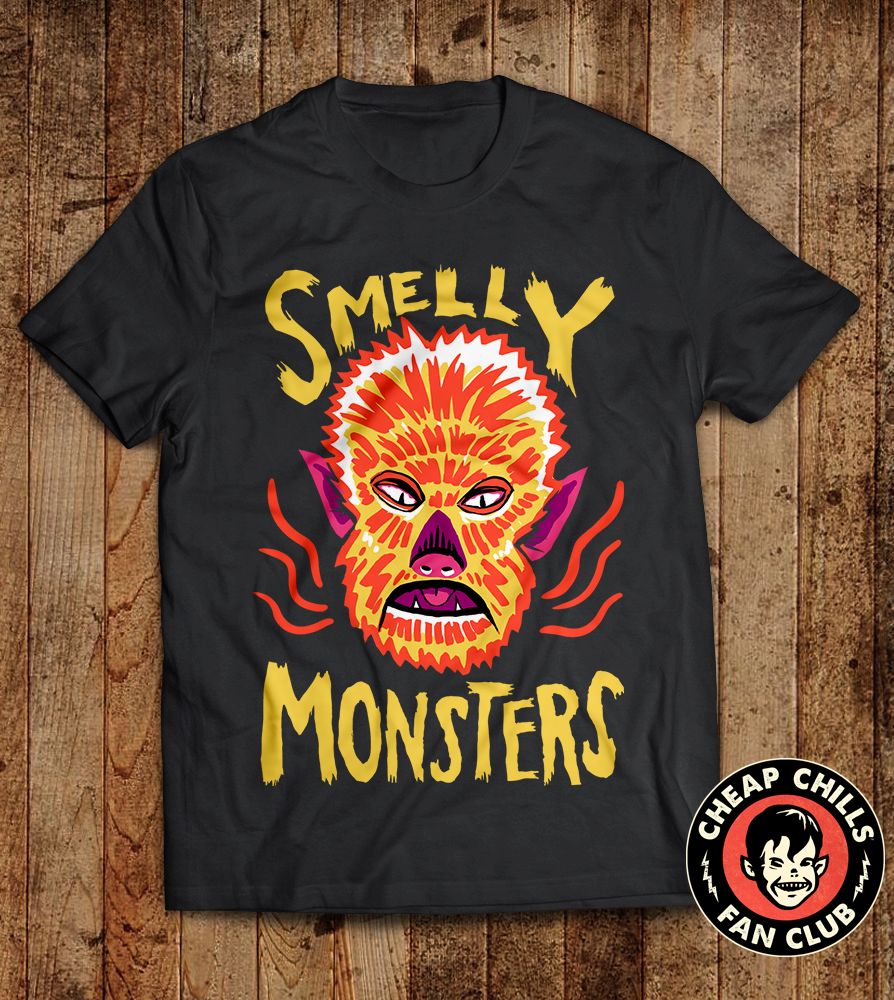 Smelly Monsters - Funny Werewolf with Bad Breath T-shirt