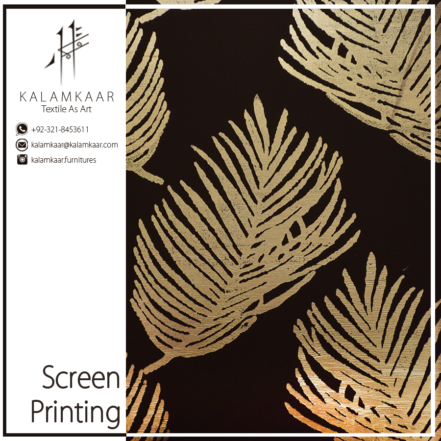 Beautiful Screen Print On Fabric For More