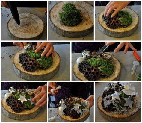 Kerststukjes maken: 4x inspiratie voor 2012 - Christmaholic.nl #kerstpronkstukken