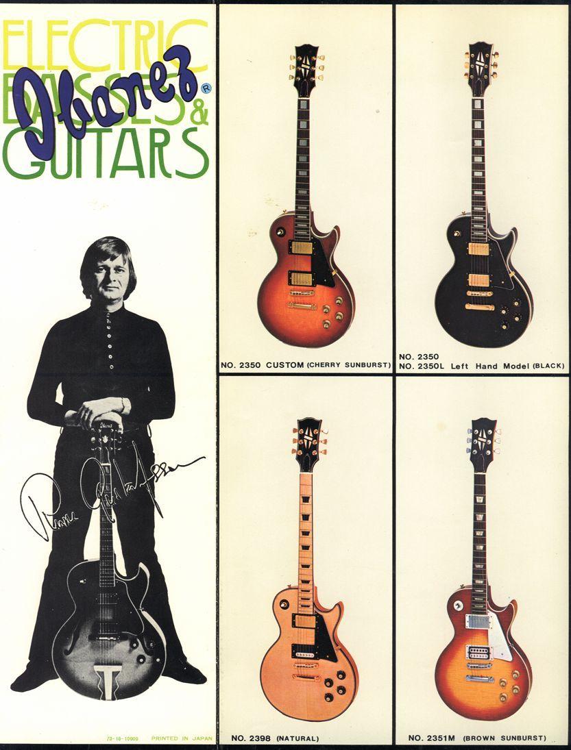Japan prelawsuit LP's Guitars Pinterest Guitars