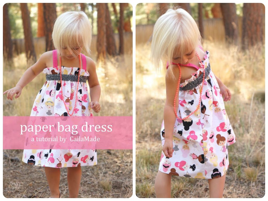 Paper-bag dress | DIY: Sewing | Pinterest | Taschen, Papier und ...