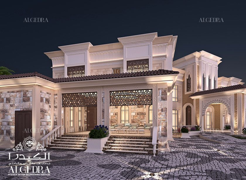 Exterior design gallery exterior design gallery best villa exteriors by algedra