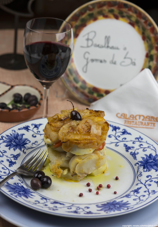 Típica cozinha portuguesa sem sair de Porto Alegre! (Restaurante Calamares, Porto Alegre, RS, Brasil)