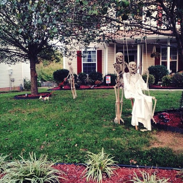 Halloween Ideas For Front Yard Part - 26: Firaxa: Captainlasky: Iu0027m Not One For Halloween Decorations, But My Mom
