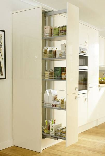 Full Height Pull Out Larder 300mm 500mm Storage