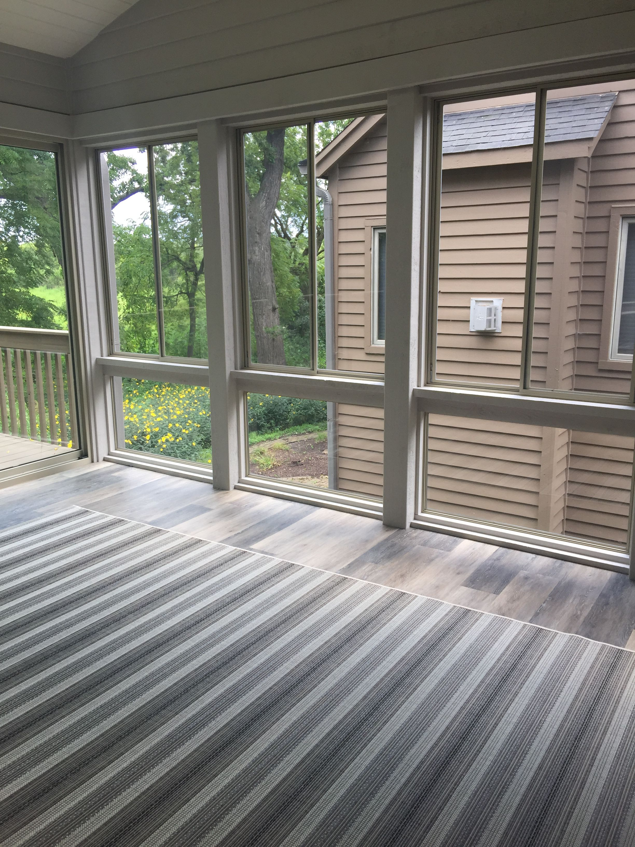 Casco Industries Storm Windows Installed Within This Porch