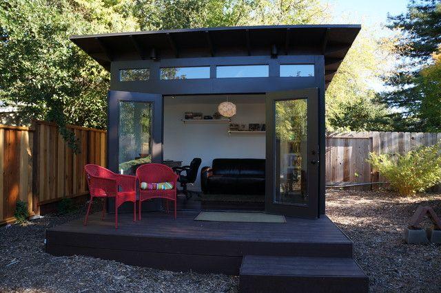 Elegant House · Office Shed Design Ideas