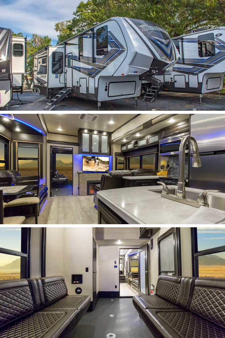Grand Design Momentum Toy Hauler Luxury Rv Luxury Motorhomes