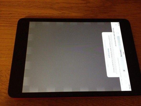 Algunos iPad Mini Retina Sufren Problemas de Pantalla