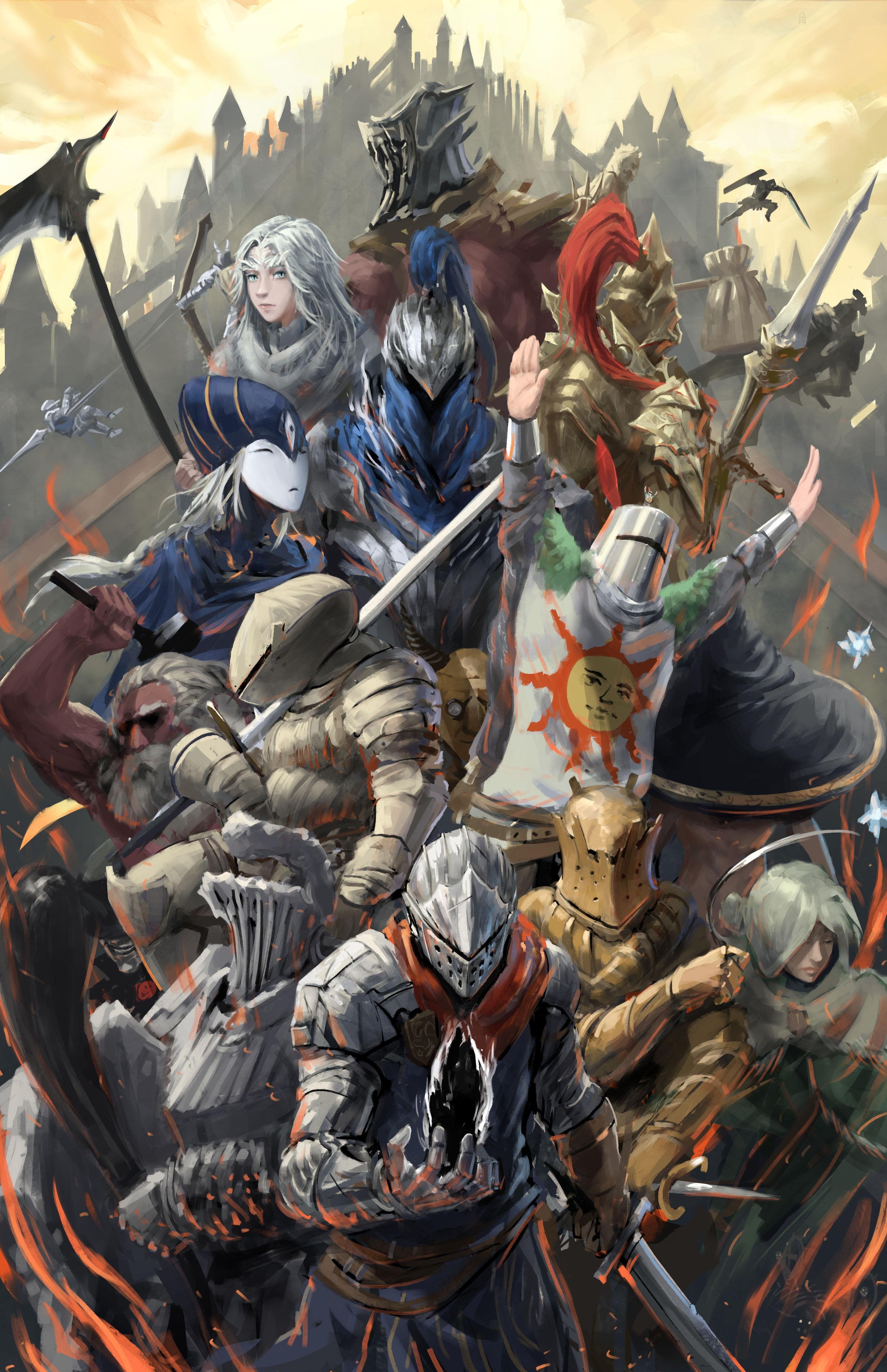 Dark Souls Wallpaper Arte Dark Souls Arte De Jogos Dark Souls