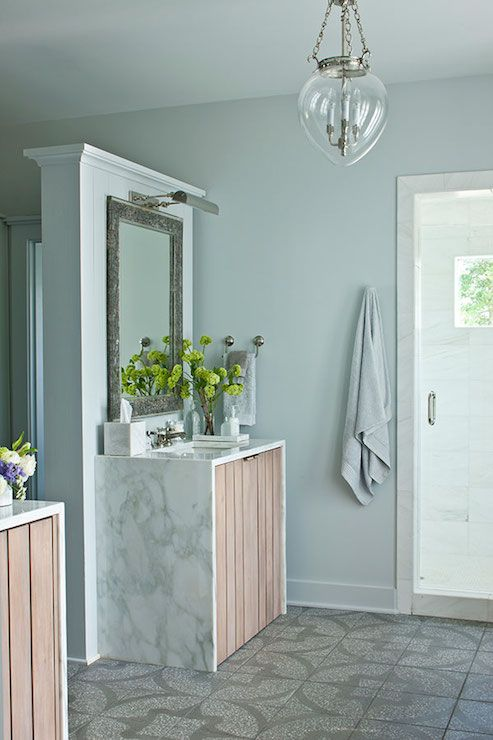 Spa Bathroom Paint Colors Sherwin Williams In 2020 Bathroom Paint Colors Spa Like Bathroom Southern Living Homes