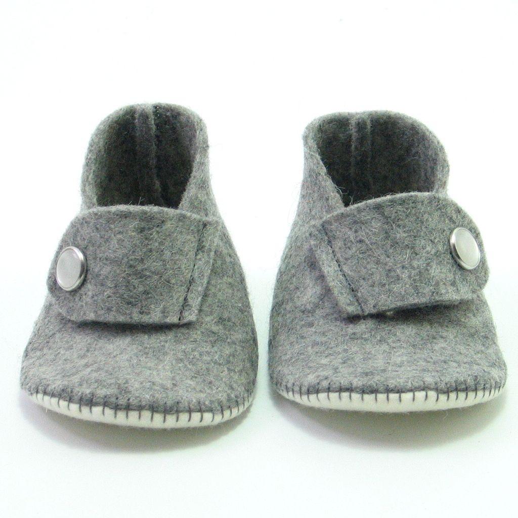 Philippe babyslofjes - Supernana handgemaakte babyslofjes, pantoffels en speeltjes van vilt