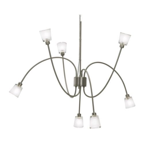 KRYSSBO Pendant Lamp IKEA Height Adjustable; Adjust According To Need    Have Bought This For