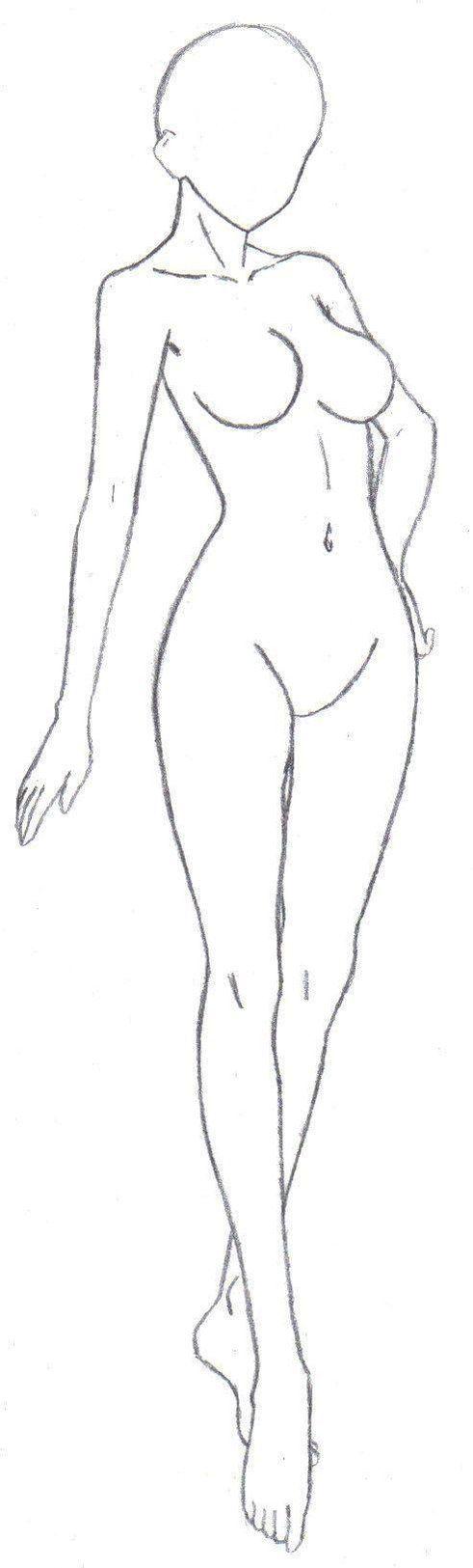 Body Frame 2 by Beta-Type-Jakuri on DeviantArt:   Dibujosss ...
