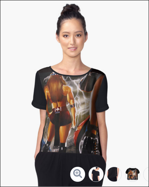 STANDOFF https://www.redbubble.com/people/kevinleedesigns/works/24672825-standoff?asc=t&p=chiffon-top via @redbubble New year Ladies, new tops for sale take a look at this new chiffon top for sale.