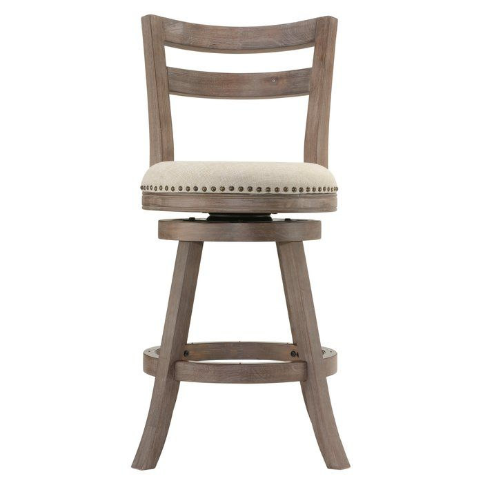 Rustic French Country Charm Comes To Life With These Counter Stools Weathered Brown Finish Frame Is Ac Bar Stools With Backs Swivel Bar Stools Wood Bar Stools
