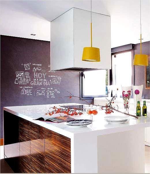 Cocina amplia con detalles grandes dimensiones y detalles para ...