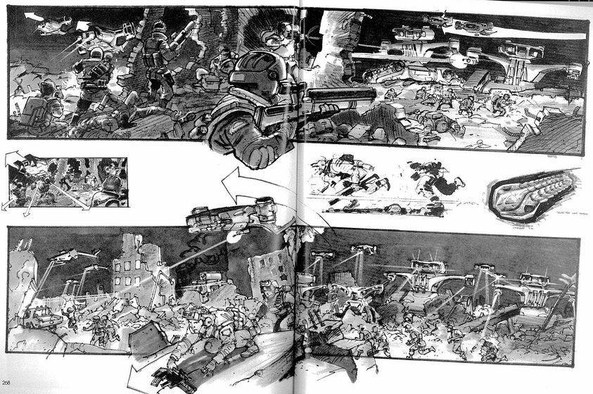Terminator  Judgment Day Art Storyboard   Storyboard Main