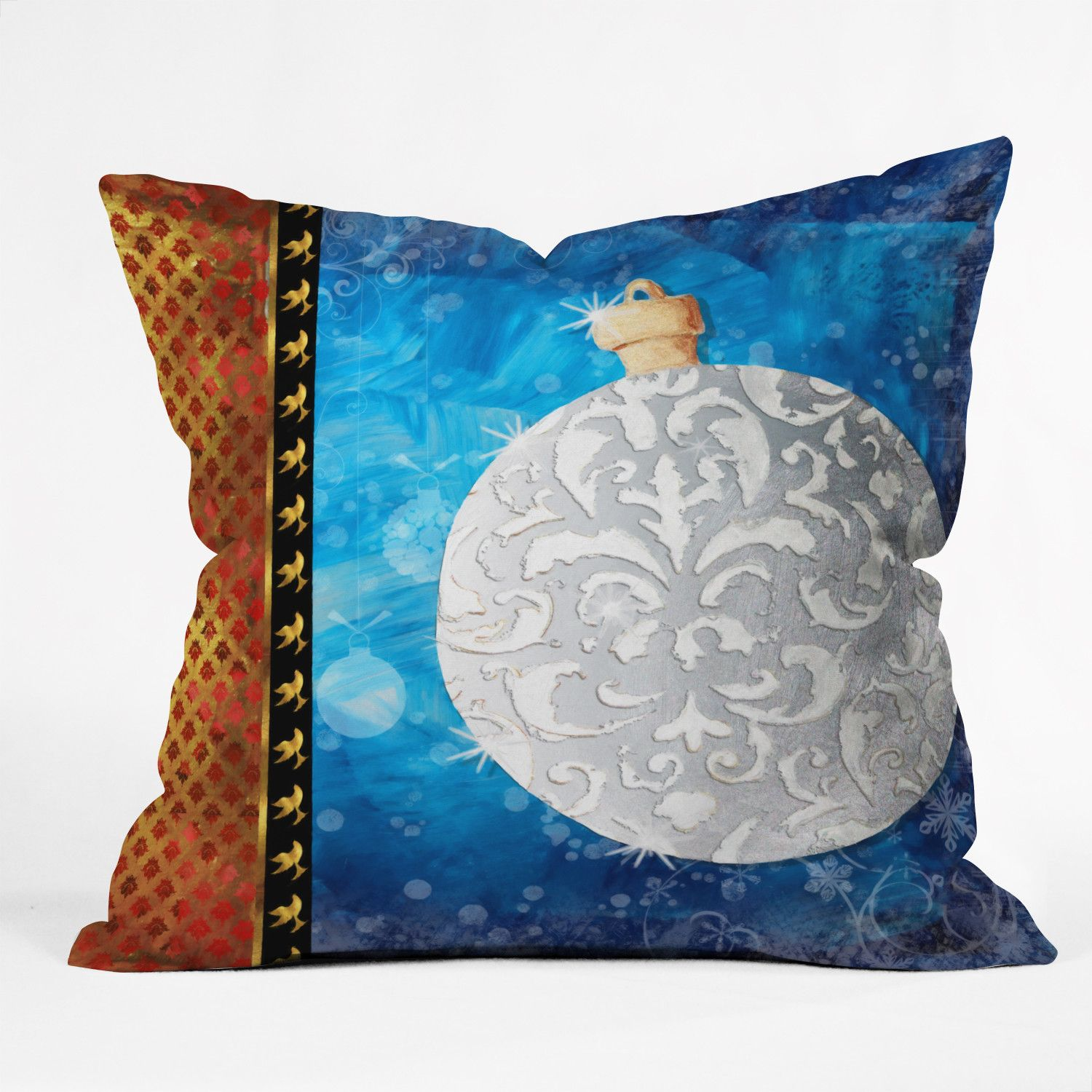 Madart Inc. Elegante Ornament Throw Pillow | Wayfair  #ornament #elegant #colorful #set #sophisticated #christmas  #winter #homedecor #home #decor #decorate #holidays #pillow #throwpillow  all rights reserved, copyright protected©  http://www.wayfair.com/DENY-Designs-Madart-Inc.-Elegante-Throw-Pillow-51764-thrpi-NDY14524.html