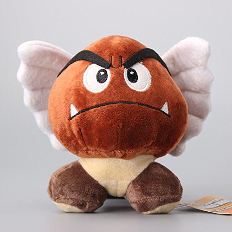 Super Mario Bros Toad Poisonous Mushroom Chestnut Aberdeen 6 Inch